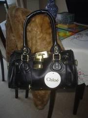 Black Chloe Inspired Handbag