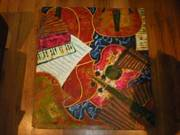 Music on canvas...Painted by a famous Musician