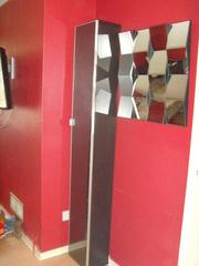 Novelty Design high Cupboard with glass door
