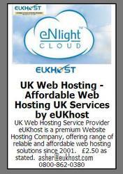 UK Web Hosting - Affordable Web Hosting UK Services by eUKhost