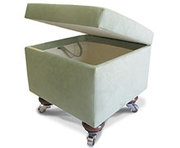 Get the wide range of fabric options for footstools
