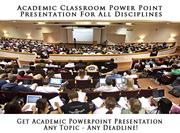 Academic Classroom Presentation Service – ContentWritings.com