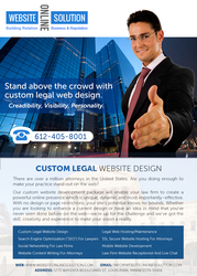 Law Firm Website Design - Legal Website Design
