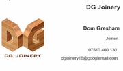 DG Joinery An Affordable and Reliable JOINERY service (Leeds)