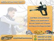 Mega Scan Pro 2017 Gold & Metal Detector