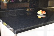 Black Sparkle Laminate Worktop | Cut to size worktops | Topdoors