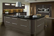 Lumi Grey Gloss Kitchen Cabinet Doors | Made to Measure | Topdoors