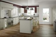 Buckingham Mussel Ash Matt Doors | Shaker Kitchen Doors | Topdoors