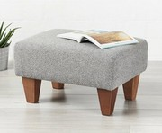 Choose from luxurious fabric footstools at Footstools&more
