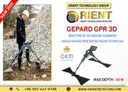 GEPARD GPR 3D Best Solution for Professional Treasure Hunter
